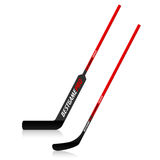 Ice hockey sticks Stock Photography