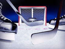 Ice hockey. Stock Photography