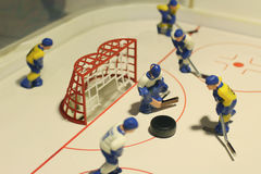 Ice hockey table game Stock Photo