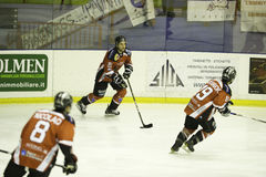 Ice hockey Valpellice Stock Image