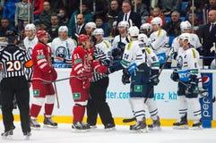 Ice hockey wars Stock Image