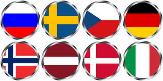 Ice hockey WM 2012. Group Stockholm ice hockey WM 2012 Royalty Free Illustration