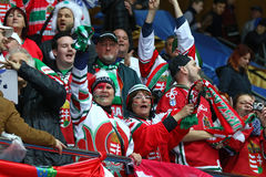 Ice Hockey 2017 World Championship Div 1 in Kiev, Ukraine Royalty Free Stock Photo