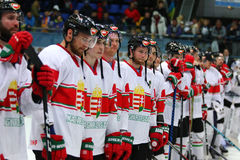 Ice Hockey 2017 World Championship Div 1 in Kiev, Ukraine Stock Images