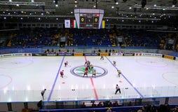 Ice Hockey 2017 World Championship Div 1 in Kyiv, Ukraine Royalty Free Stock Photography