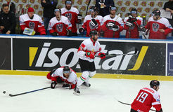 Ice Hockey 2017 World Championship Div 1 in Kyiv, Ukraine Stock Images