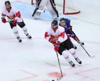 Ice Hockey 2017 World Championship Div 1 in Kyiv, Ukraine Stock Photo
