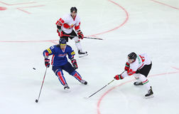 Ice Hockey 2017 World Championship Div 1 in Kyiv, Ukraine Royalty Free Stock Photos