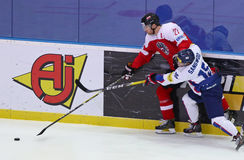 Ice Hockey 2017 World Championship Div 1A in Kyiv, Ukraine Stock Image