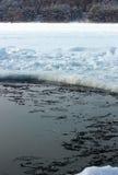 Ice-hole Royalty Free Stock Image