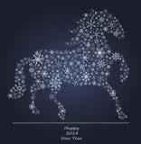 Ice horse Stock Photography