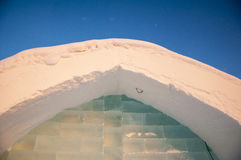 Ice hotel detail Stock Images