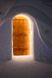 Ice hotel in Quebec city, Canada Royalty Free Stock Photo