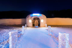 Ice Hotel, Sorrisniva Stock Images