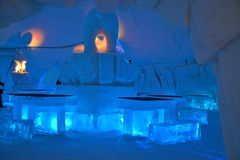 Ice Hotel Stock Image