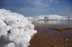 Ice hummock in Arctic Royalty Free Stock Image