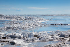Ice hummock Stock Images