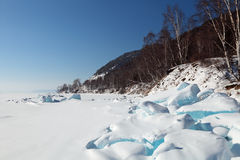 Ice hummocks Royalty Free Stock Photography