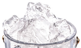 Ice and Ice Bucket III Stock Photo