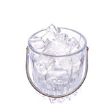 Ice and Ice Bucket IV Royalty Free Stock Photo