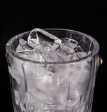 Ice and Ice Bucket IV Royalty Free Stock Photography