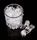 Ice and Ice Bucket VI Royalty Free Stock Photo