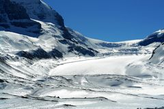 ice icefield Obraz Royalty Free