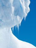Ice and icicles Royalty Free Stock Images