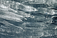 Ice Icicles Closeup. Ice Icicles Background Texture with Extreme Closeup Stock Photography