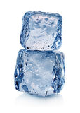 Ice isolated Stock Photos