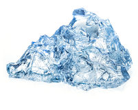 Ice isolated on white background Royalty Free Stock Images