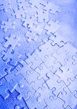 Ice jigsaws Royalty Free Stock Images