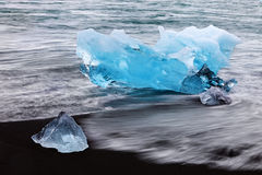 Ice in Jokulsarlon Stock Image