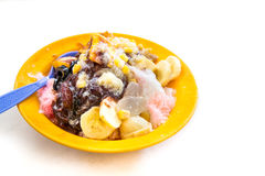 Ice kacang or shaved iced sweet dessert, popular in Malaysia Royalty Free Stock Photography