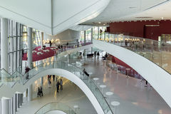The ICE Krakow Congress Centre in Poland Royalty Free Stock Images