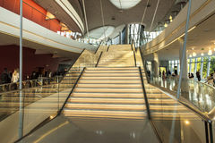 The ICE Krakow Congress Centre in Poland Royalty Free Stock Image