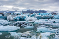 Ice lagoon in Iceland Stock Images