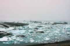 Ice lagoon Jokulsarlon in Iceland. Royalty Free Stock Photo