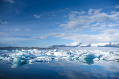Ice lagoon Royalty Free Stock Photo