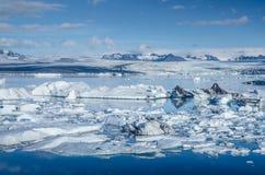Ice lagoon Royalty Free Stock Photography