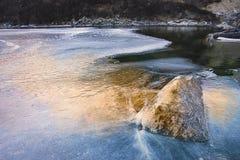 Ice lake Stock Photos