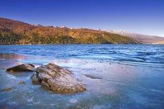 Ice lake Stock Photo