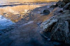 Ice lake Stock Photography