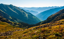 Ice Lake Basin Colorado Wilderness Peaks Turquoise Lake Stock Images
