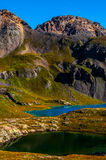 Ice Lake Basin Colorado Wilderness Peaks Turquoise Lake Royalty Free Stock Images