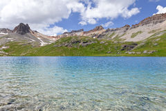 Ice Lake Colorado Rocky Mountains Stock Images