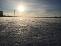 Ice lake Royalty Free Stock Photos