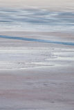Ice on lake water winter day Royalty Free Stock Photography