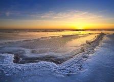 Ice landscape Stock Image