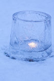 Ice lanterns Royalty Free Stock Photography
